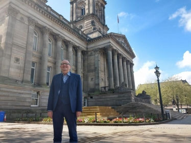 Cllr David Greenhalgh, Photo: Bolton News